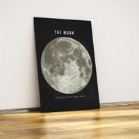 Javvuz Ay (Moon) - Dekoratif Metal Plaka