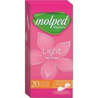 Molped Daily Care Light Normal Flower 20'li