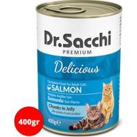 Dr Sacchi Kedi Konservesi 400gr Somon Balıklı