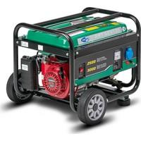AMT GEN 130 Benzinli Jeneratör (3 kVA-İpli-Honda GX 160 motorlu-230V/50Hz-Tekerlekli)