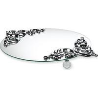 FArRBELA Aynalı Tepsi - Gümüş