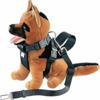 Nobby Safety Belt Beden Tasmalı Köpek Emniyet Kemeri Siyah