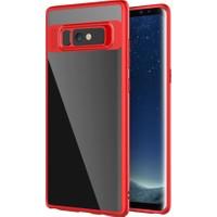 Kapakevi Samsung Galaxy S8 Auto Focus TPU Ultra Koruma Kılıf Kırmızı