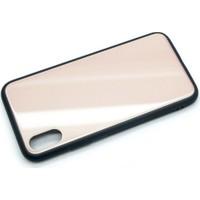 Kapakevi iPhone X TPU Ultra Koruma Cam Yüzey Premium Kılıf Gold