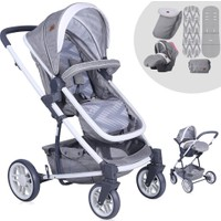 Lorelli S-500 Grey Travel Sistem Bebek Arabası