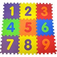 Akçiçek Eva Oyun Karosu Yer Matı Puzzle Sayılar Temalı 33 x 33 cm