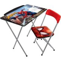 Disney Spiderman Çocuk Ders Çalışma Masası