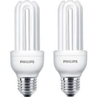 Philips Genie 18W 2'li Tasarruflu Ampul E27 Beyaz