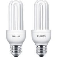 Philips Genie 18W 2'li Tasarruflu Ampul E27 Sarı