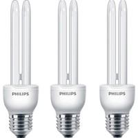 Philips Economy Stick 14W 3'lü Tasarruflu Ampul E27 Beyaz