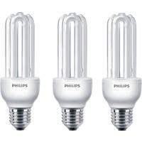 Philips Economy Stick 18W 3'lü Tasarruflu Ampul E27 Beyaz