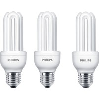 Philips Genie 18W 3'lüTasarruflu Ampul E27 Beyaz