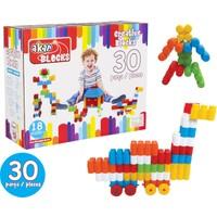 Akar 30 Parça Zeka Blokları 01-101