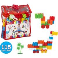 Akar 115 Parça Zeka Blokları 01-110 Sırt Çantalı