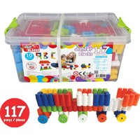 Akar 117 Parça Junior Blocks Plastik Box