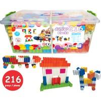 Akar 216 Parça Junior Blocks Plastik Box