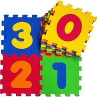 Akar Eva Puzzle Oyun Karosu 33X33cm 10Mm Rakamlar