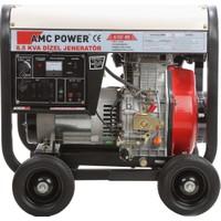 Amcpower 8,5 Kva OTOMATİK Dizel Jeneratör 220 Volt