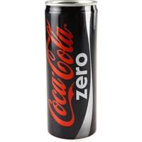 Coca Cola Zero 200 ml Kutu 24 Adet