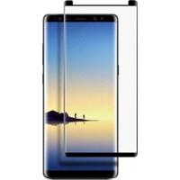 Case 4U Samsung Galaxy Note 8 TAM Kapatan Ekran Koruyucu Siyah