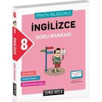 Şenol Hoca 8. Sınıf T.C. İngilizce Soru Bankası (Pratik Bilgilerle)