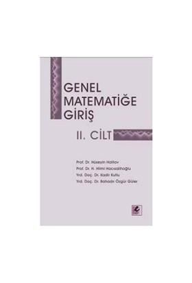 Genel Matematiğe Giriş II