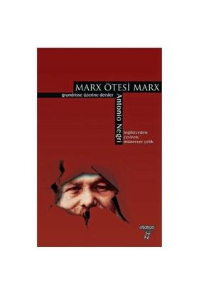 MARX ÖTESİ MARX