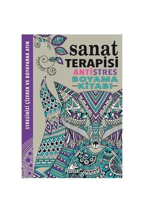 Antistres Boyama Kitabı: Sanat Terapisi - Richard Merritt