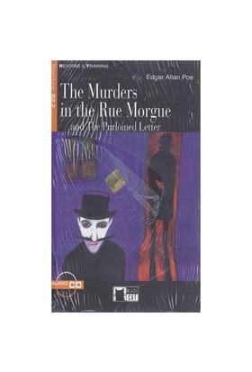 Cideb Yayınları The Murders İn The Rue Morgue And The Purloined Letter Edgar Allan Poe Step 5+Cd Black Cat