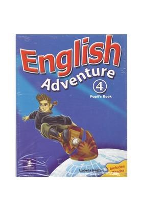 Longman Yayınları English Adventure 4 Pupils Book&Activity Book Set