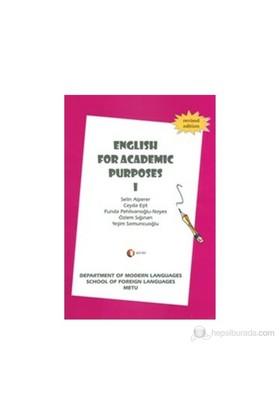 English For Academic Purposes 1-Yeşim Somuncuoğlu