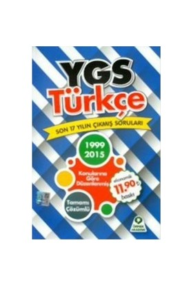 Örnek Akademi Ygs Türkçe Son 16 Yılın Çıkmış Soruları-Kolektif