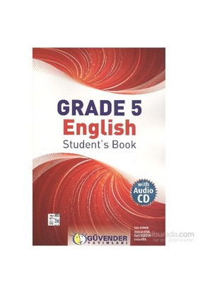 Güvender Grade 5 English Students Book-Atalay Oğul