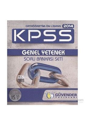 Güvender Kpss 2014 Ortaöğretim Ön Lisans Genel Yetenek Soru Bankası Seti-Kolektif