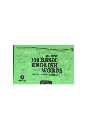 Redhouse 100 Basic English Words 2 Yeşil