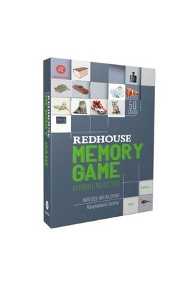 Redhouse Memory Game (İngilizce Hafıza Oyunu)-Kolektif