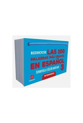 Redhouse: İspanyolca Sözcük Kartları 3 Orta Düzey-Kolektif