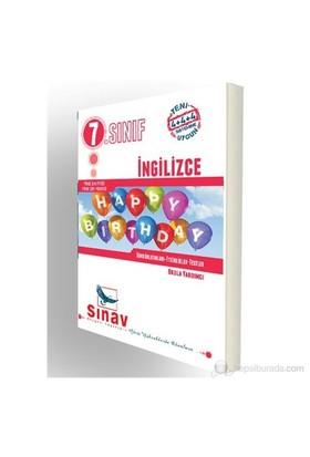 Sınav Dergisi 7.Sınıf İngilizce Konu Anlatımlı-Kolektif