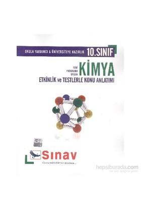 Sınav 10. Sınıf Kimya Etkinlik Ve Testlerle Konu Anlatımlı-Arzu Çolak
