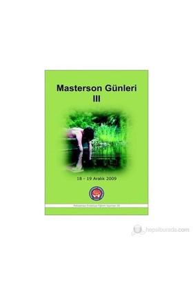 Masterson Günleri 3 - Masterson'S Days 3-Leslie S. Greenberg