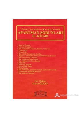 Apartman Sorunları El Kitabı-Hasan Özkan