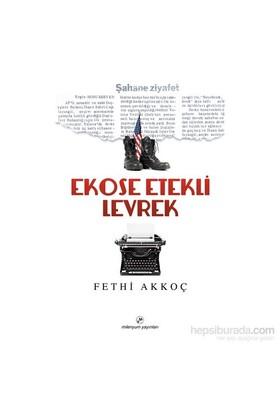 Ekose Etekli Levrek-Fethi Akkoç