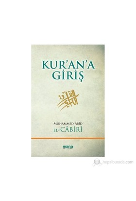 Kur'An'A Giriş-Muhammed Abid El-Cabiri