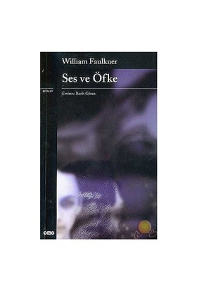 Ses Ve Öfke - William Faulkner