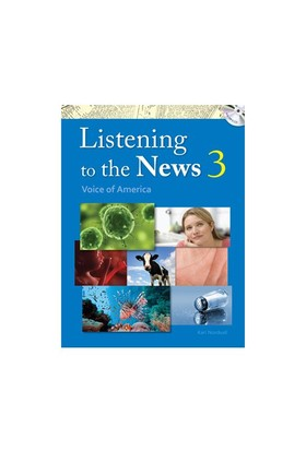 Listening To The News 3 With Dictation Book +Mp3 Cd-Karl Nordvall