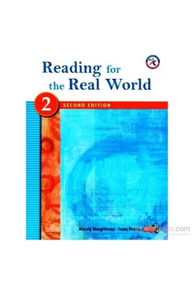 Reading For The Real World 2 +Mp3 Cd (2Nd Edition)-Tonia Peters