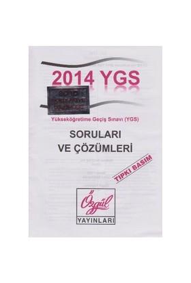 Ösym Ygs 2014-2015 Soruları Ve Çözümleri Tıpkı Basım