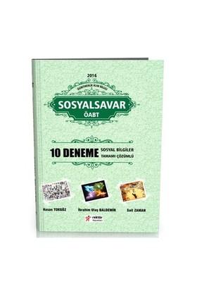 Rektör Yayınları Öabt 2016 Sosyal Bilgiler Öğretmenliği Sosyal Savar Tamamı Çözümlü 10 Deneme