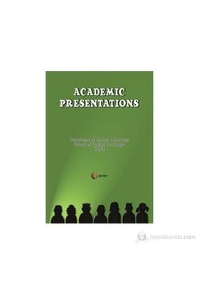 Academic Presentations-Selin Alperer