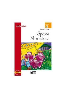 Cideb Yayınları Space Monsters Black Cat